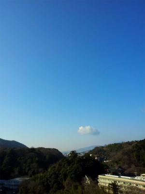 ぽっかり雲