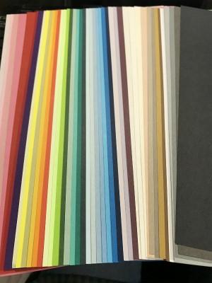 彫紙アートで使う紙はどんな紙?ファンシーペーパーを使います