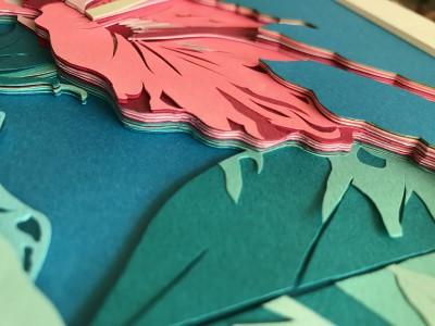 TV世界まる見えで放映「彫紙アートとは」  紙を彫るってなんぞや?!