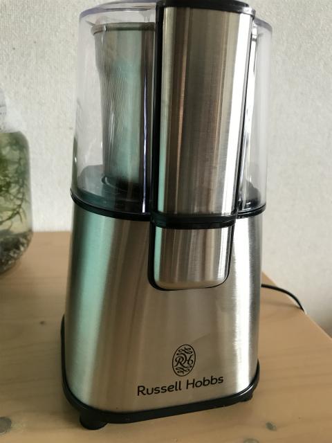ラッセルホブス コーヒーグラインダー7660JPレビュー こりゃいいですよ!